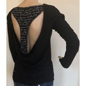 Tops - Open-Back Sweatshirt
